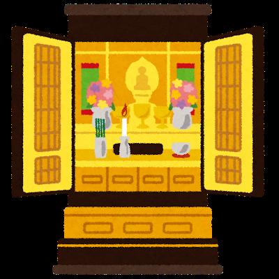 伝統的に持たれている仏壇のイメージ