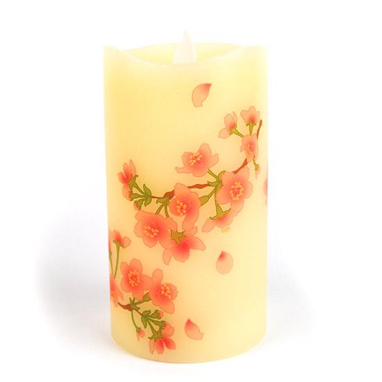 【LEDローソク】 『いろはあかり』桜