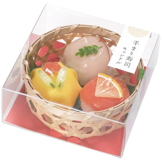手まり寿司 キャンドル (故人の好物シリーズ)