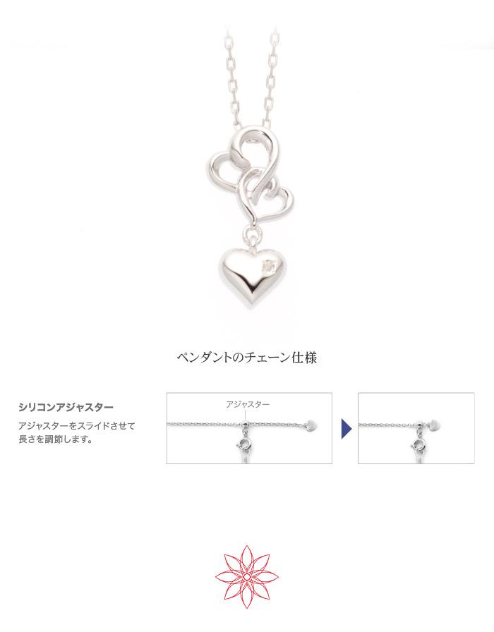 遺骨ペンダント Soul Jewelry ハートIII K18ホワイト