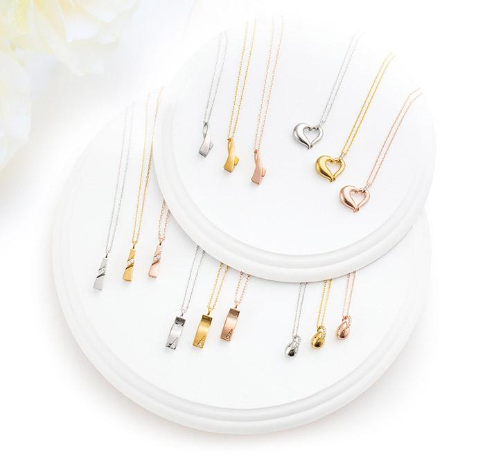 遺骨ペンダント Soul Jewelry アノー K18ホワイト
