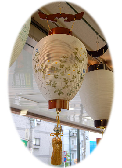 吊型提灯の一例